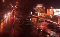 Ieškoma, kas vaizdo registratoriumi užfiksavo, kaip Kaune buvo partrenkta moteris