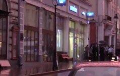 """Užpuolikas grasina susisprogdinti """"Citibank padalinyje Maskvoje"""