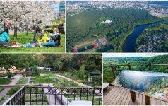TOP 10 Vilniaus vietų, kurių pavasarį būtų nuodėmė neaplankyti