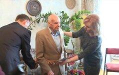 Šimtametis šiaulietis pasidalino savo ilgaamžiškumo paslaptimi