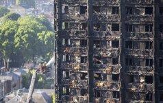 D. Britanijos premjerė paskyrė gaisro Londono daugiabutyje tyrimų vadovą