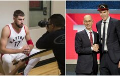 """Konkurentas J. Valančiūnui? """"Raptors"""" trenerį sužavėjo Austrijos supertalentas"""