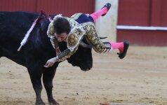 Devyniolikmečiui matadorui ir vėl nepasisekė