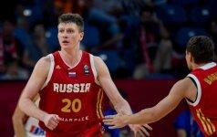 """""""Eurobasket 2017"""" aštuntfinalio TOP-5: K. Porzingis ir A. Voroncevičius baudė varžovus dėjimais"""
