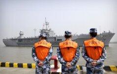 Kinija ir Rusija surengs bendras pratybas Pietų Kinijos jūroje
