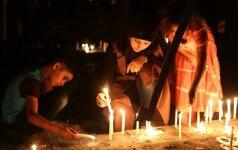 Savižudžio išpuolis Bagdade nusinešė mažiausiai 7 žmonių gyvybes