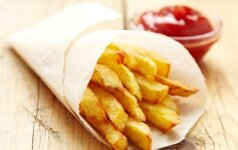 Tobulų gruzdintų bulvyčių receptas