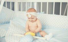 Ar kūdikiui vieta tėvų lovoje?