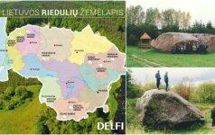 Didžiausių Lietuvos akmenų TOP 10: vietos, kurias privalote aplankyti
