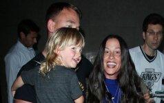 Alanis Morissette su šeima