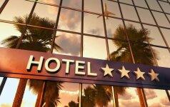 Renkamės viešbutį: ar 5 žvaigždutės dar kažką reiškia?