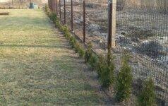 Darau pats: segmentinės tvoros įrengimas