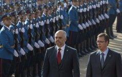 Edi Rama ir Aleksandaras Vučičius