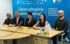 Spaudos konferencija LTOK dėl olimpiadų transliavimo
