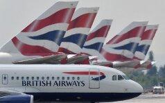 """Vilniaus valdantieji tikisi pritraukti """"British Airways"""""""