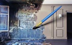 Remontas: kaip sutvarkyti namus prieš ir po