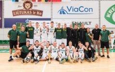 Lietuvos 16-mečių rinktinės triumfavo Baltijos taurės turnyre