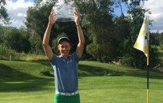 Apdovanoti geriausi Lietuvos golfo žaidėjai