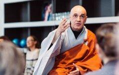 Dzenbudistų vienuolis K. Marčiulynas: jaučiamas dvasinis atgimimas