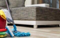 Kaip pasigaminti paprastą, bet veiksmingą priemonę grindims plauti