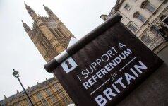 """ES šalys surengė slaptą susitikimą dėl """"Brexit"""