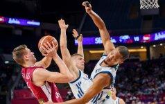 Po dramatiškos kovos Latvijos rinktinė ketvirtfinalyje nusileido slovėnams
