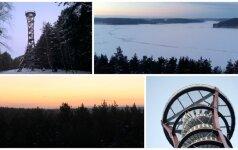 Ežerų krašto grožis: žiema sukūrė nuostabų paveikslą