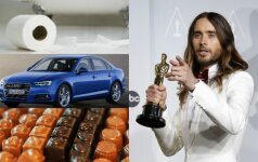 Oskarų nominantams atiteksiančios dovanos
