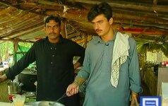 Nauja Pakistano garsenybė – gražuolis arbatos pardavėjas