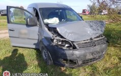"""Per avariją kelyje """"Via Baltica"""" nukentėjo du žmonės"""