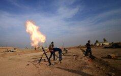 """Mūšis dėl Mosulo: Irako kariuomenė susigrąžino iš """"Islamo valstybės"""" rytinę miesto dalį"""