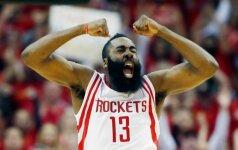 """""""Rockets"""" klubas - NBA Vakarų konferencijos pusfinalyje"""