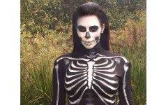 Helovino makiažo idėjos: nebūkite atsibodę skeletai ir vampyrai FOTO