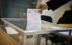Išankstinis balsavimas praėjo sklandžiai