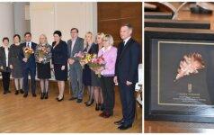 Daina Gudzinevičiūtė apdovanojo geriausius Lietuvoje kūno kultūros mokytojus