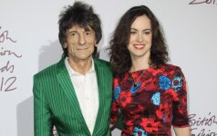 Ronnie Wood su Sally Humphreys