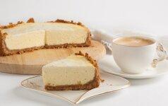 Aksominis varškės pyragas