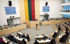 Daugumai Seimo narių fondų trūksta skaidrumo, sako nevyriausybininkai