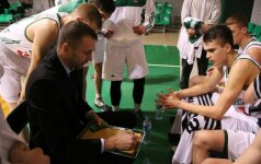 """Iš kartos į kartą – """"Žalgirio"""" talentas G. Masiulis tobulėja tėčio vadovaujamoje komandoje"""