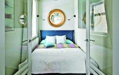 10 sumanių mažo miegamojo sprendimų