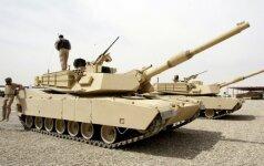 """Kultinio M1 """"Abrams"""" permainos: amerikiečių tankas taps vienu pažangiausių"""