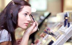 Kodėl kosmetikos gaminių nerekomenduotina pirkti turguje