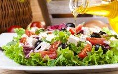 10 skanių salotų norintiems sulieknėti