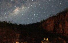 Rugpjūčio danguje - visos šviesiausios planetos ir vasaros pabaigos ženklai
