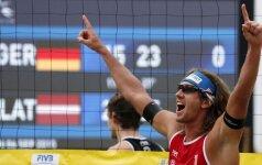 Jūrmaloje vyks Europos paplūdimio tinklinio čempionatas
