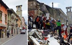 Italijoje žemės drebėjimo aukų padaugėjo iki 250, dar 365 žmonės sužeisti