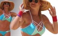 B. Spears atostogos Havajuose vos nesibaigė tragiškai