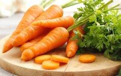 Mėgstantiesiems morkas vaistų nereikia