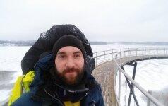 Aplink Lietuvą pėsčiomis: kas buvo baisiausia