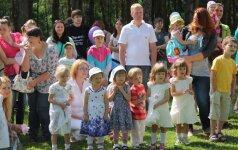 Paauginti neišnešiotukai Vilniuje šventė vasarą FOTO